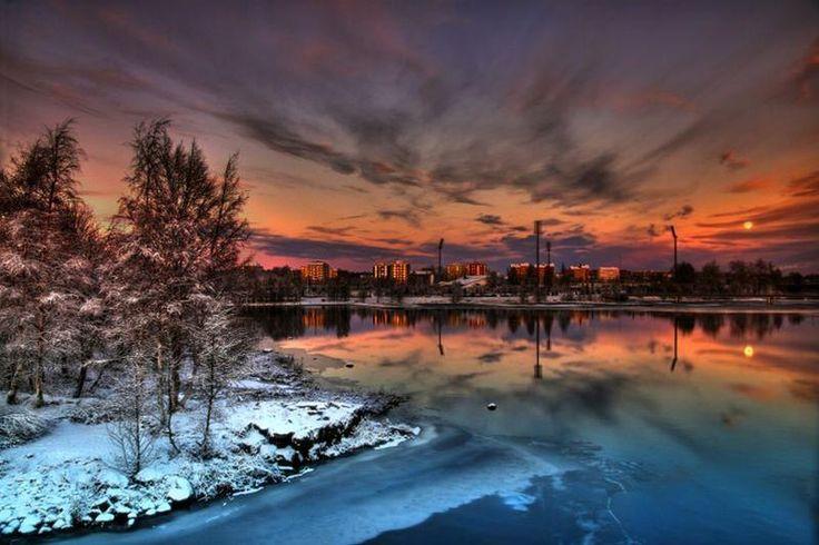 Oulu, Finland. Can not wait!