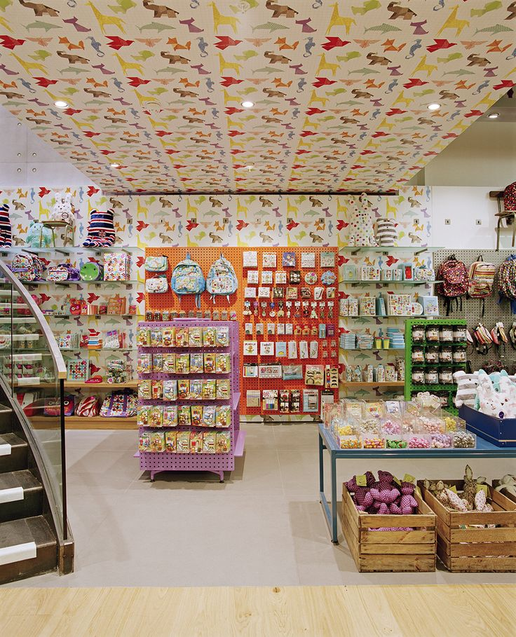 Paperchase Glasgow Kids Section Award Winning Interior Retail Design By Made In Place Photo