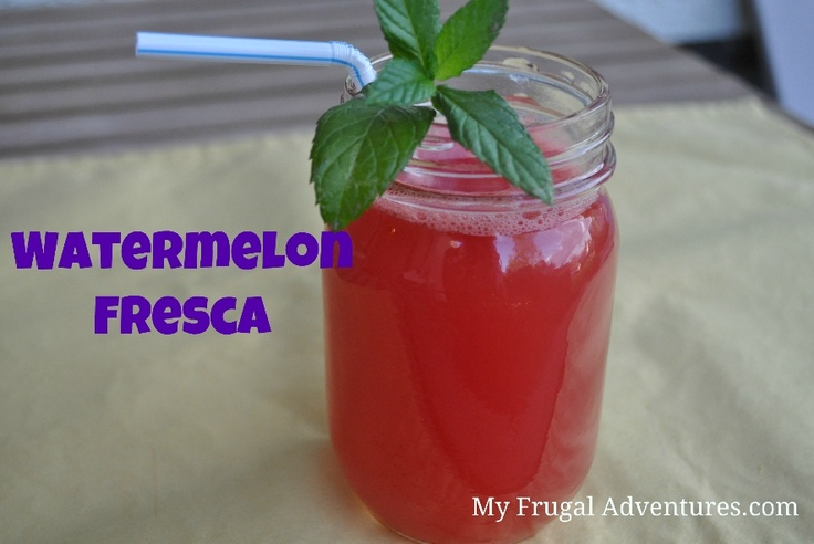 Watermelon Agua Fresca | Recipe