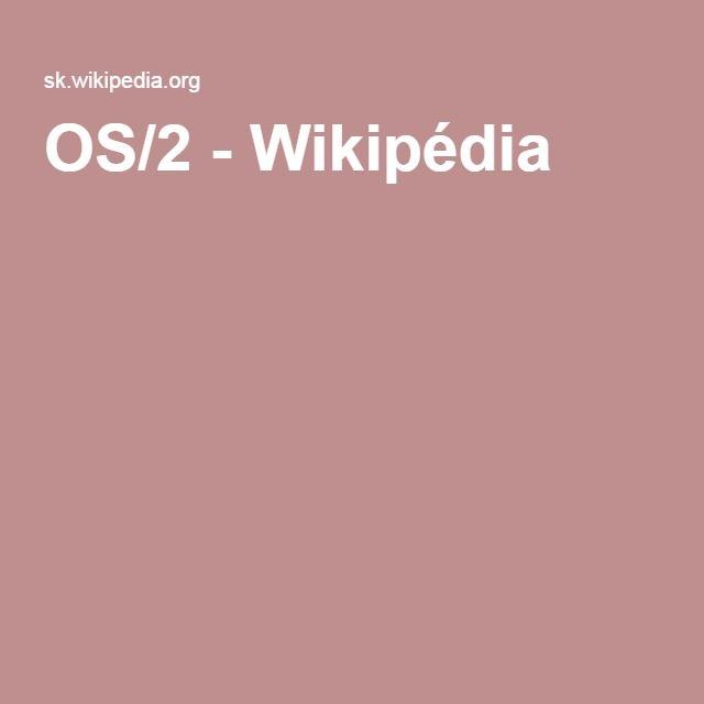 OS/2 - Wikipédia