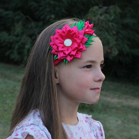 Fascia Rosa del bambino fascia del bambino fiore fiore di