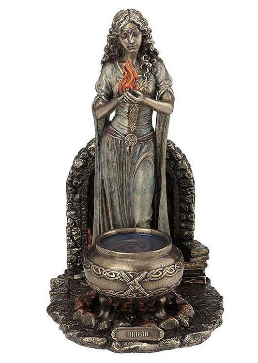 brigid celtic statue