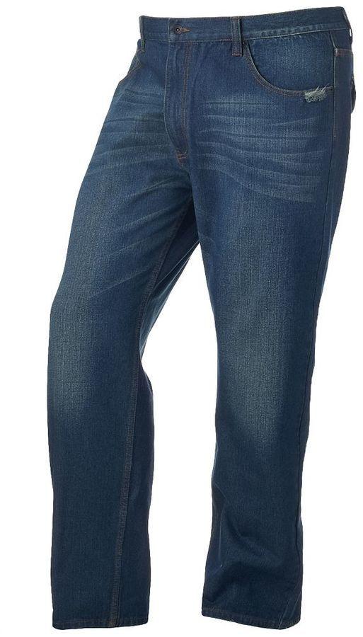 Big & Tall Rocawear Mini-Flap Jeans
