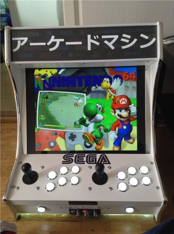 arcade maskine 45000 SPEL! på Tradera.com - TV-spel och datorspel -