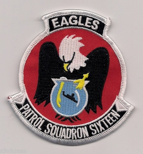 USN VP-16 EAGLES patch ( P-3 ORION MARITIME PATROL SQN )