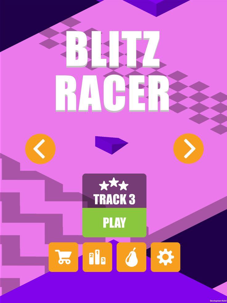 Blitz Racer Version 2 - Track 3 http://www.pearfiction.com https://itunes.apple.com/ca/app/blitz-racer/id939439952?mt=8