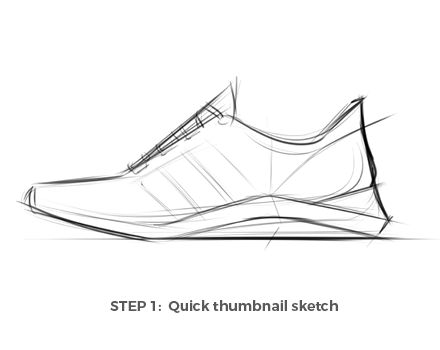 How to Draw (Beautiful) Shoes with Hudson Rio — A master of shoe design and industrial art, Hudson Rio shares his technique for how to draw shoe concept art step by step using SketchBook.