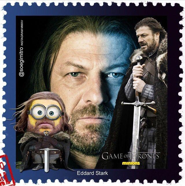 "Game Of Thrones Minions ~ Eddard ""Ned"" Stark"
