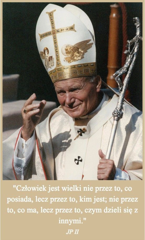 Jan Paweł II - niezwykły człowiek i wspaniały Papież.   Zapal swój znicz pamięci na: www.ariamemoria.com/jan-pawel-ii/