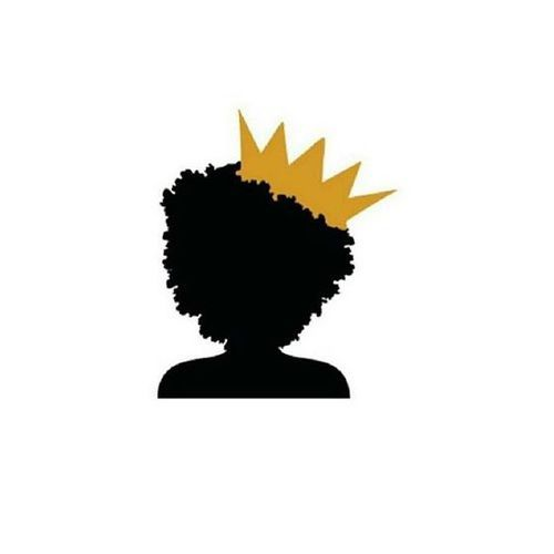 black, power, and crown image