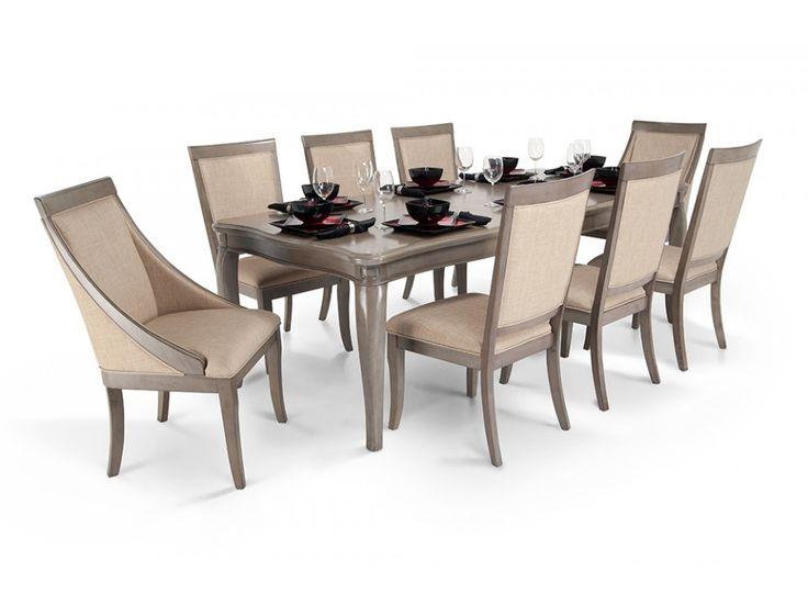 Transitional Dining Room Set With Bob-O-Pedic Seating!