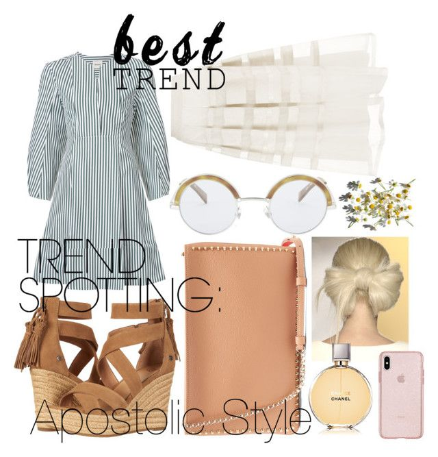 """#trending Apostolic Style"" by emmyholloway on Polyvore featuring Khaite, UGG, Christian Louboutin, Oliver Peoples, Temperley London, Olsen, Chanel and trend"