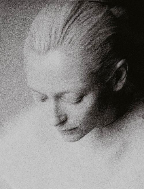 Tilda Swinton photographed by Johan Sandberg for Purple Magazine Spring/Summer 2006.