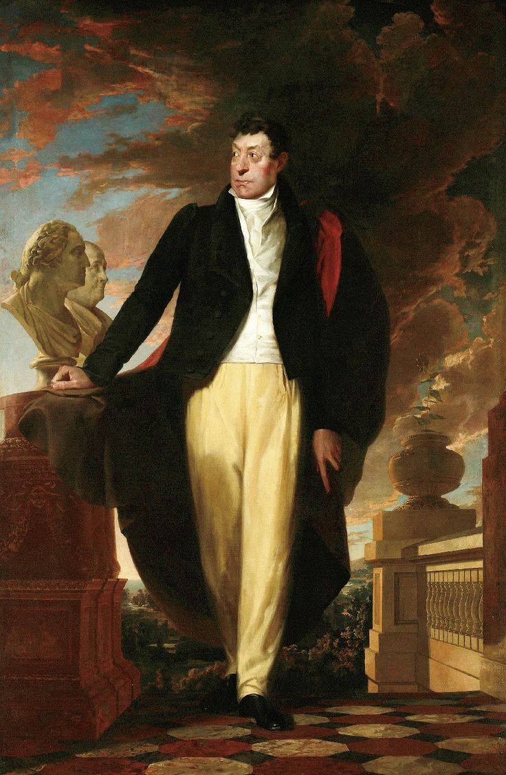 The Marquis De Lafayette (17571834) By Samuel Fb Morse, Painted For