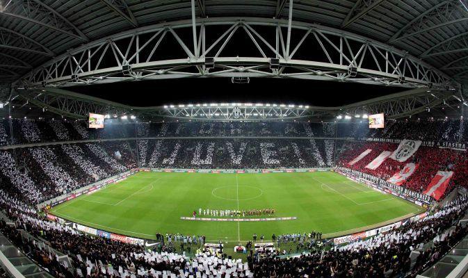 Semifinale di ritorno Tim Cup  Torino 20 marzo 2012  Juventus - milan 2 -2 (4-3)  Coreografia Juventus Stadium