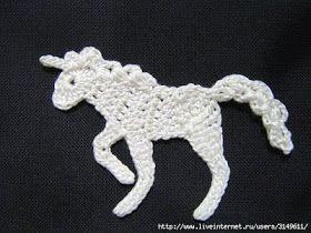 Unicornio crochet