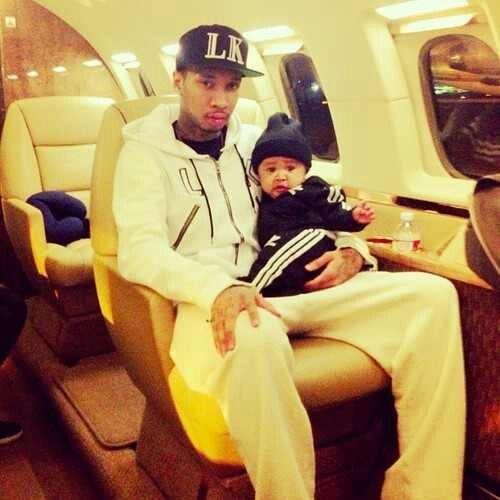 Tyga & his son <3