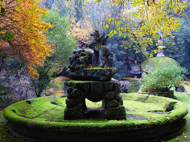 25 best images about bomarzo on pinterest gardens park for Jardines de bomarzo