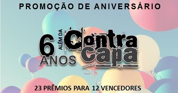 Para comemorar os 6 anos do Além da Contracapa, convidamos os nossos blogs amigos e nossas editoras parceiras para fazer uma super...