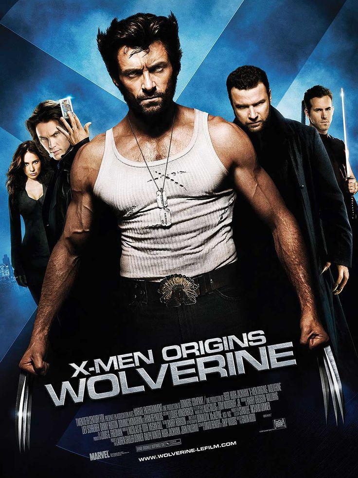 X-Men Origins Wolverine le film qui dévoile les origines de l'anti héros mutant connu autrefois sous le nom de Serval, Hugh Jackman tout griffe dehors.
