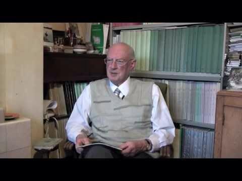 Professor Ken Kitchen. Eminent archeologist and expert Egyptologist.