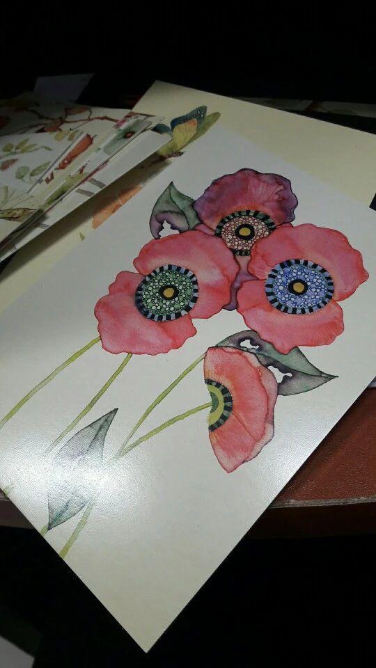 Tienda Online 22 unids/lote Lindo Pintado A Mano de Aves y Flores de la Acuarela Fresca Invitado de Boda tarjetas postales tarjeta de Felicitación Tarjetas de Celebrar | Aliexpress móvil