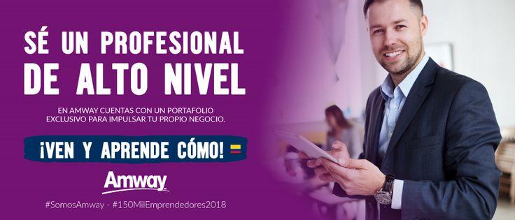 Oportunidad de negocio para emprendedores - Amway Colombia.
