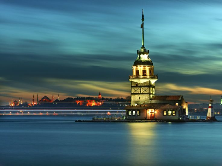 Kiz Kulesi Tower by Fokion Zissiadis on 500px
