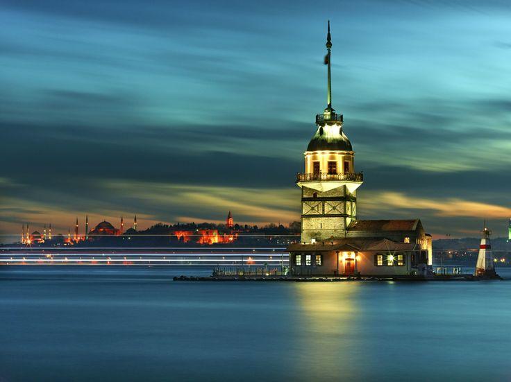Kiz Kulesi Tower by Fokion Zissiadis on 500px
