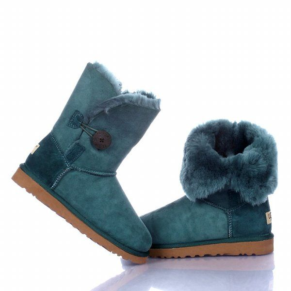 Deep Green Ugg Boots 5803 Bailey Button Model: Ugg Boots 040 Save: off