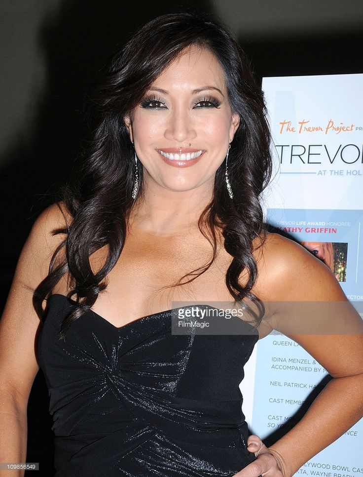 TV personality Carrie Ann Inaba arrives at the Trevor Live benefiting 'The Trevor Project' held at Hollywood Palladium on December 5, 2010 in Hollywood, California.