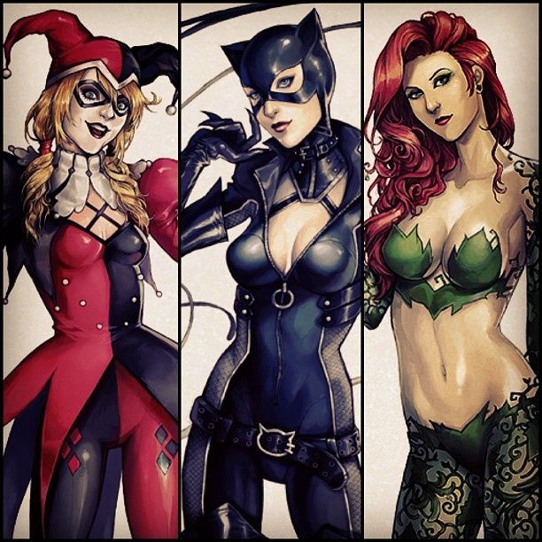 Gotham City Sirens by sailorramen