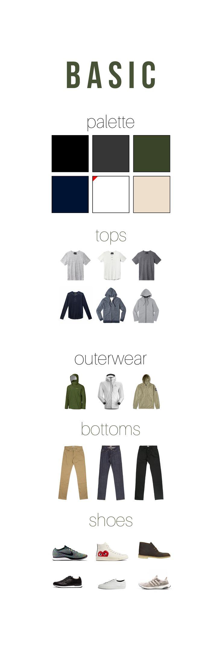 Minimal/Athleisure/Streetwear Wardrobe