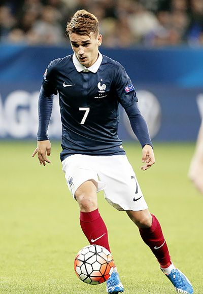 Antoine Griezmann ; French Superstar during Euro 2016 in France