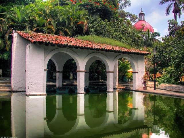Jardin Borda in Cuernavaca, Morelos