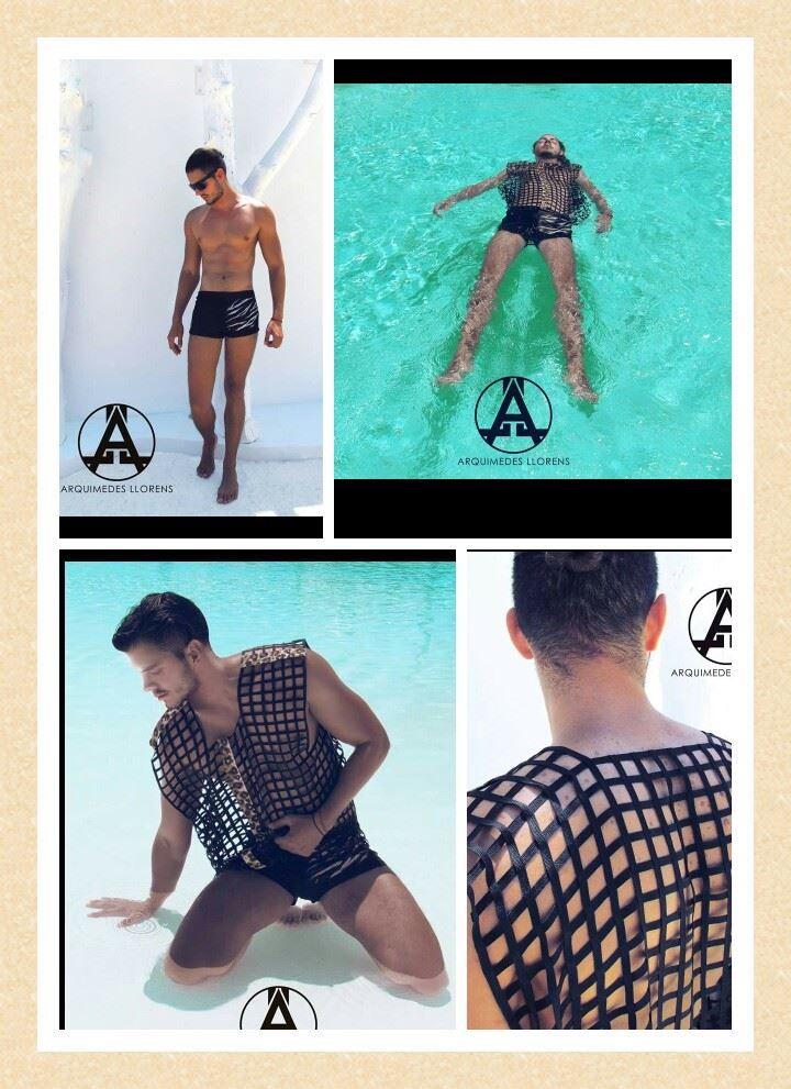 Chica Boon   Animal Soul Swimwear, la nueva colección de trajes de baños masculinos