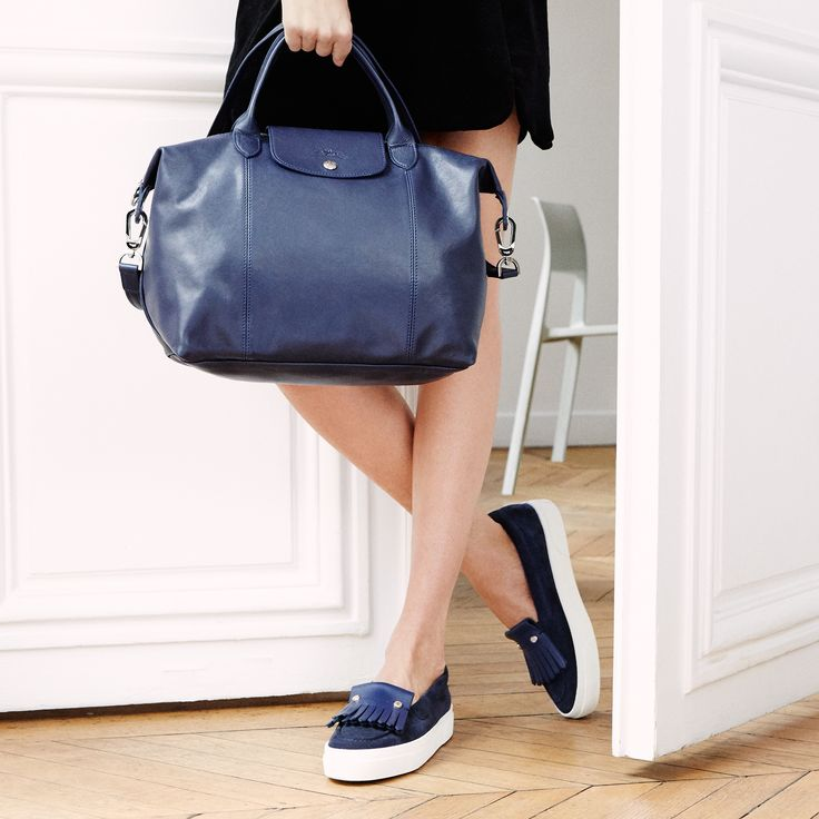 Longchamp Fall 2016 Le Pliage Cuir collection. Discover it on www.longchamp.com