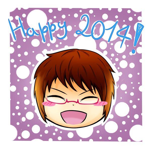 Welcome 2014 ~ !!! by IperGiratina98.deviantart.com on @deviantART