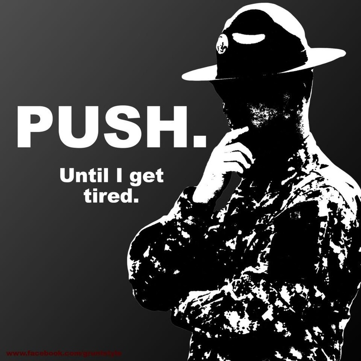 The world according to Drill Sergeant.