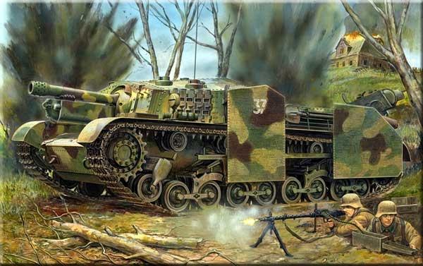 Hungarian 40/43 M 'Zrinyi' II 105mm Assault Gun