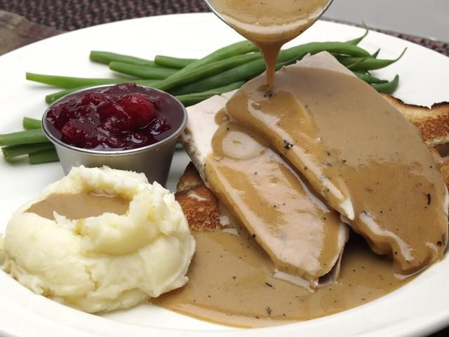 This basic old-fashioned giblet gravy recipe is for a simple version made with chicken broth or drippings and chopped hard-cooked eggs.
