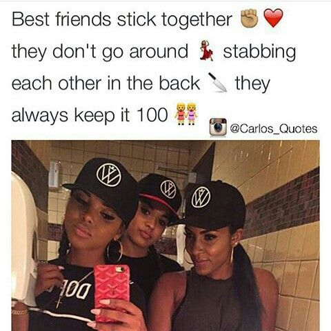 Nah...some bestfriends be trifling
