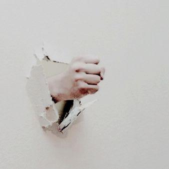 "Breaking down Your walls like ""Hey~"""