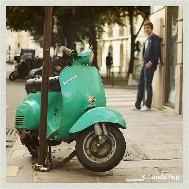 9 best images about Vespa on Pinterest | Purple, Mint ...