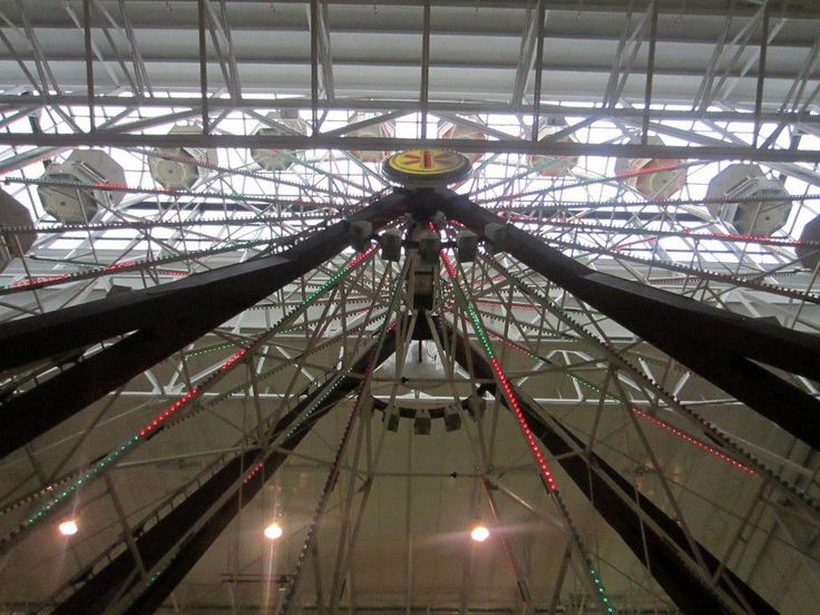 check over here http://earth66.com/rides/indoor-ferris-wheel-125ft-worlds-tallest-indoor-ferris-wheel-center-cleveland/