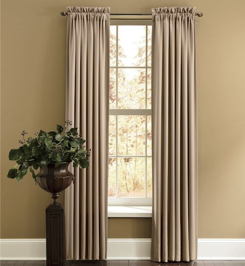Perfect Panel, Madison Room Darkening From Through The Country Door® ~ Chocolate