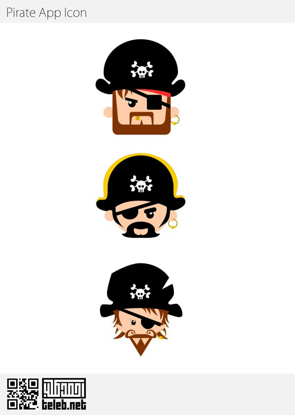 Pirate App Icon on Behance
