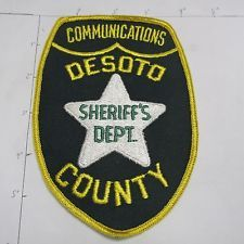 OLD DESOTO COUNTY SHERIFFS COMMUNICATIONS 911 DISPATCHER VINTAGE FLORIDA PATCH