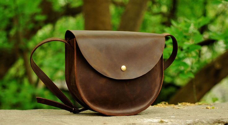 Женская винтажная сумка из натуральной кожи, цена: 1089 грн.