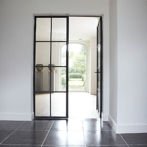 Love a door like this is my house. Domus Aurea | Exclusieve Villabouw